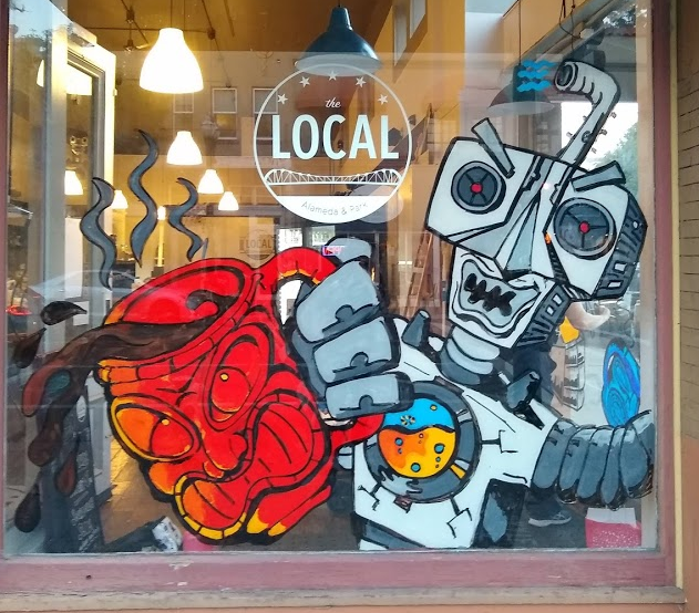 Alameda Window Painting
